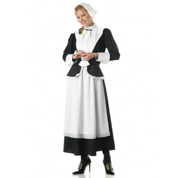 Pilgrim Woman Adult Costume