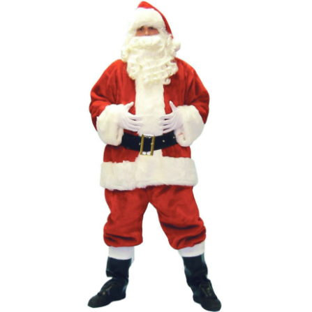 Deluxe Luxury Santa Suit Costume