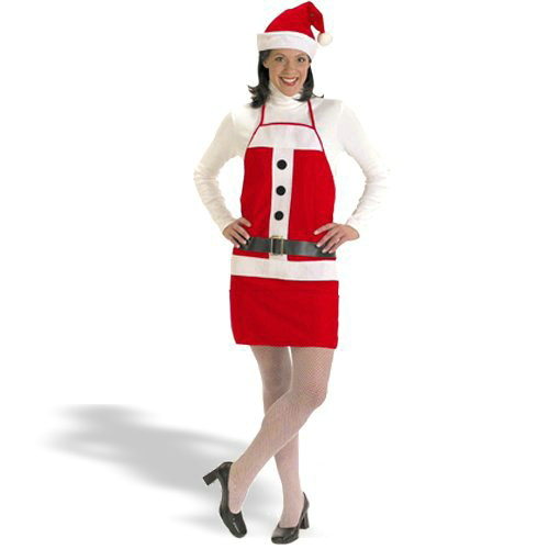 Holiday Apron & Hat Set Costume