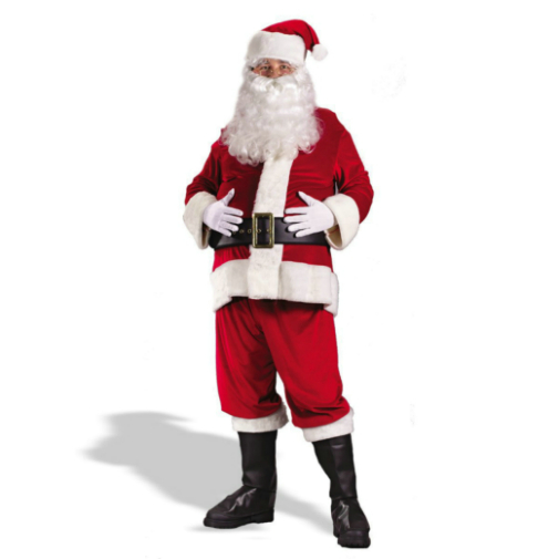 Rich Velvet Santa Suit Costume