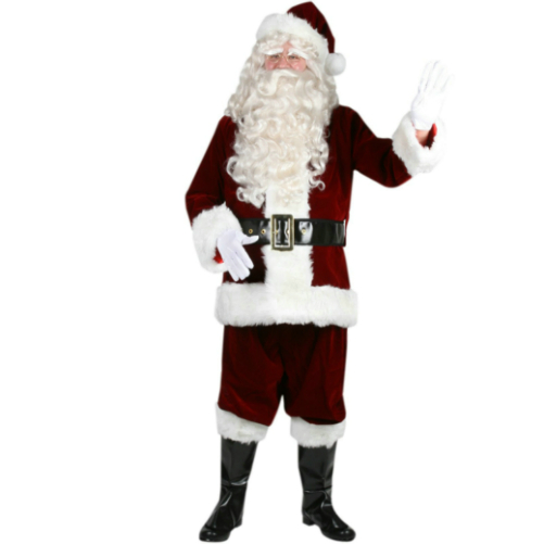 Ultra Velvet Santa Suit Costume