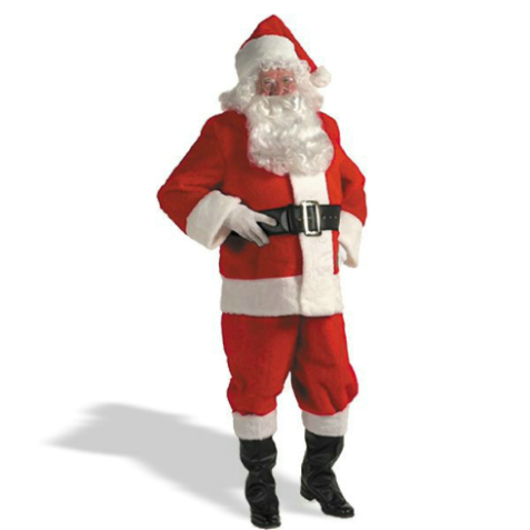 Kris Kringle Suit Standard Costume
