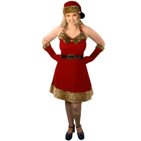 Santa's Pet Adult Plus - Winter Holiday Classics Costume