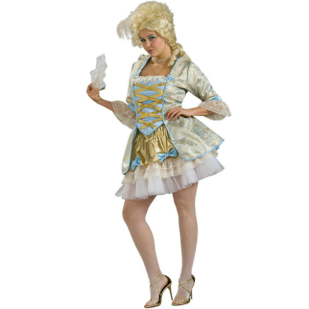 Lady of Versailles Adult Plus Costume
