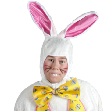 Deluxe Easter Bunny Adult Costume - Click Image to Close