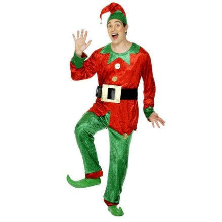 Deluxe Elf Adult Costume