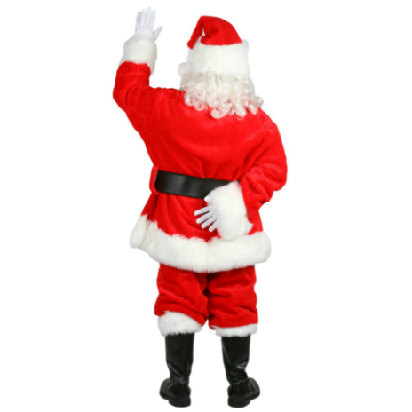 Professional Santa Suit Adult Plus Costume