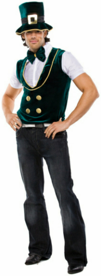 Leprechaun Lad Adult Costume