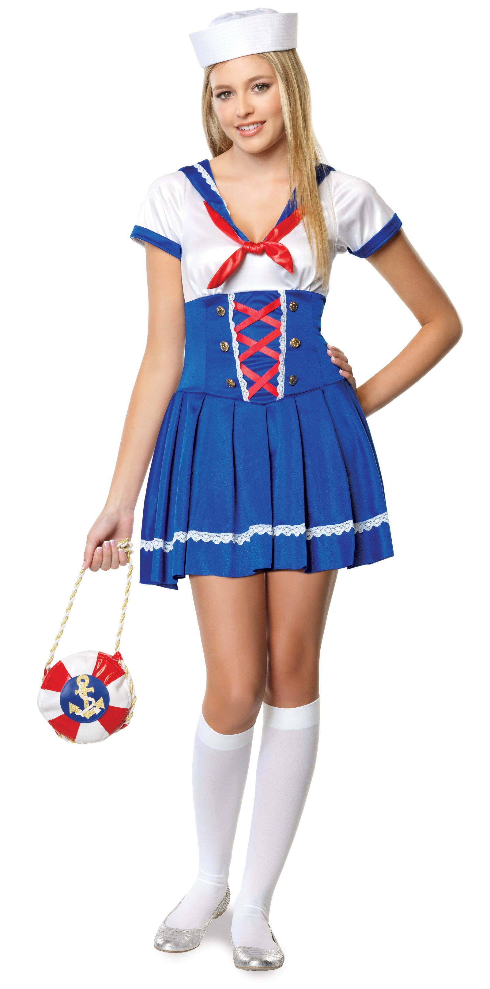 First Mate Sailor Teen Costume
