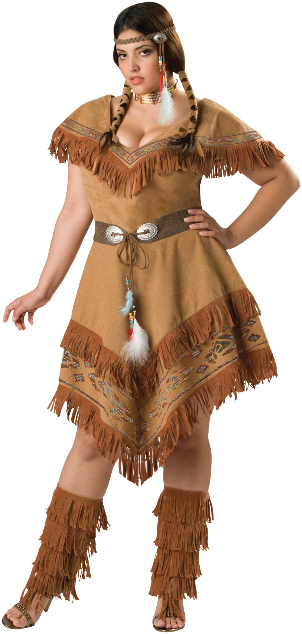 Indian Maiden Plus Adult Costume