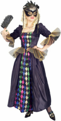 Karnivale Queen Adult Costume