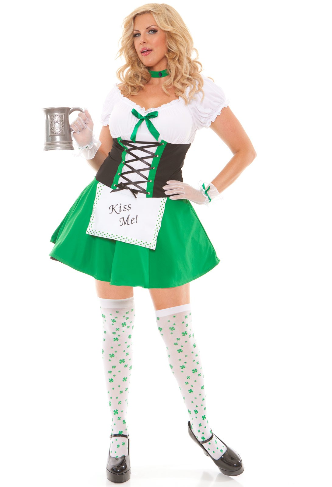 Kiss Me Cutie Adult Plus Costume