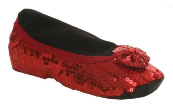 Adult Ruby Red Slippers