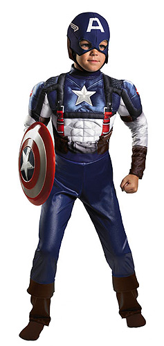 Child Captain America Movie Costume