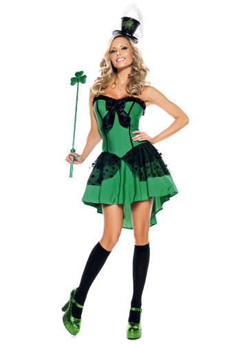 Irish Lady Luck Costume