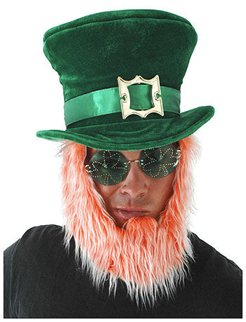 Leprechaun Hat w/Beard