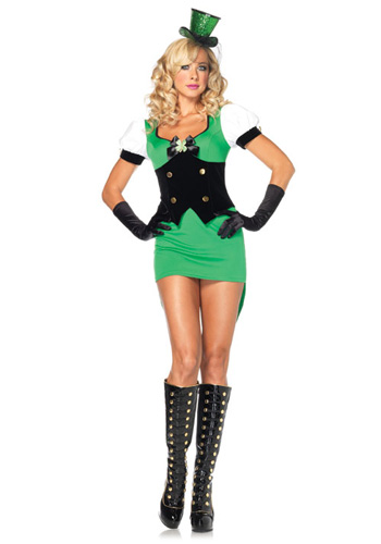 Sexy Lucky Irish Costume