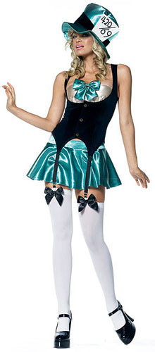 Sexy Adult Mad Hatter Costume