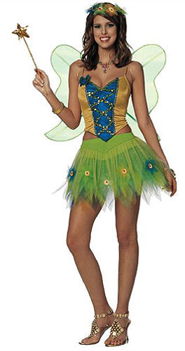 Forest Fairy Nymph Costume