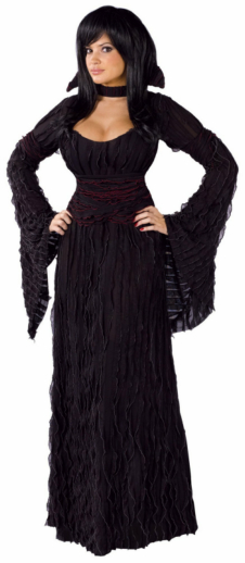 Graveyard Vampiress Adult Costume