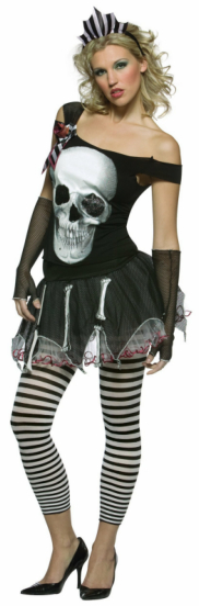 Faces Skull Adult Costume
