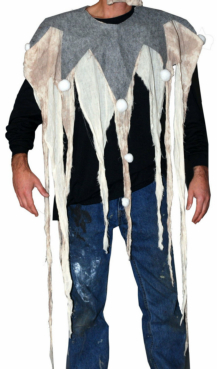 Dead Clown Adult Poncho