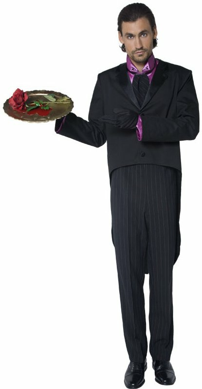 Gothic Butler Adult Costume