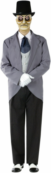 Demented Dummy Undertaker Adult Costume