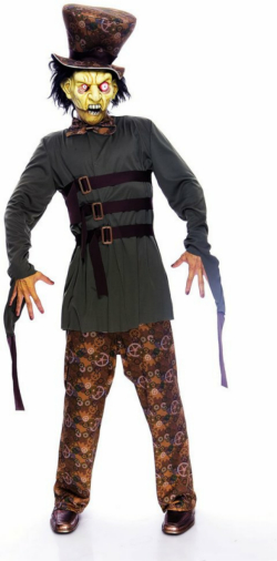 Wicked Wonderland Mad Hatter Economy Adult Costume