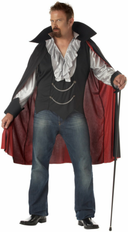 Very Cool Vampire Plus Adult Costume