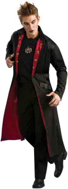 Vampire Coat Adult Costume