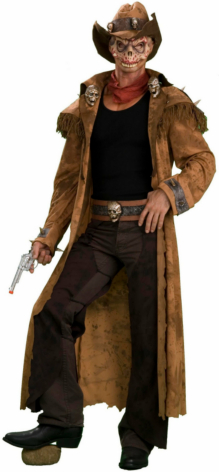 Zombie Gunslinger Adult Costume