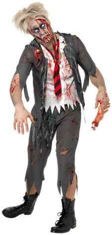 Highschool Horror School Boy Adult Costume