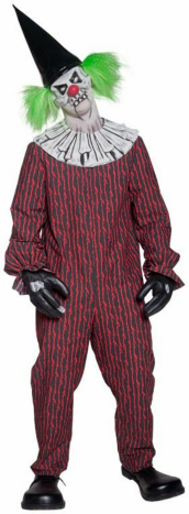 Twisted Clown Adult Costume