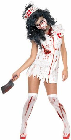 Zombie Nurse Adult Costume