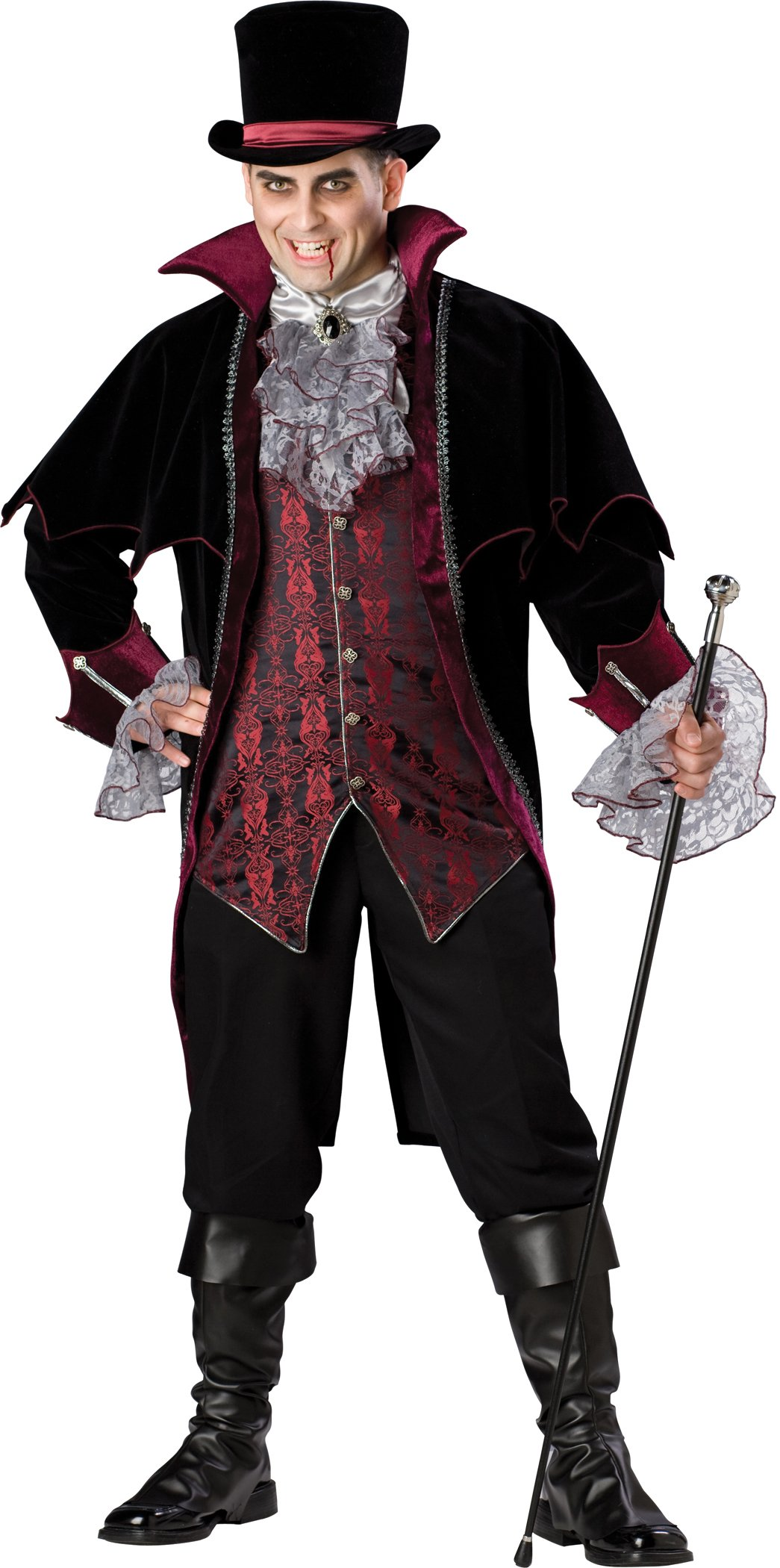 Vampire Of Versailles Plus Adult Costume