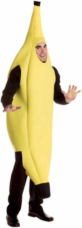 Banana Deluxe Adult Costume