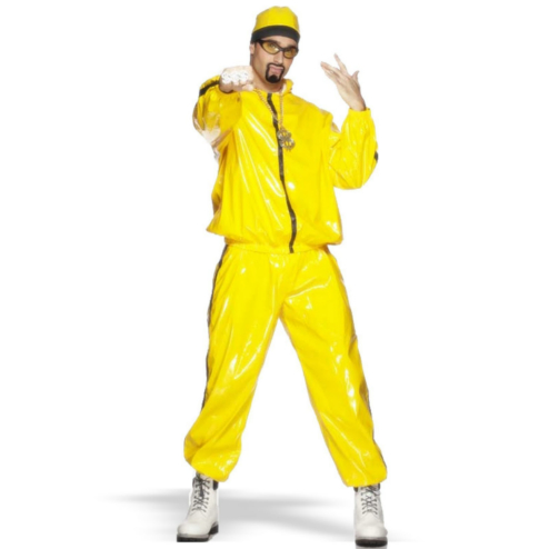 Yellow Rapper Suit Adult Costume