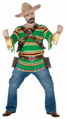 Tequila Pop 'N' Dude Adult Costume