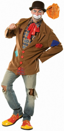 Harry the Hobo Clown Adult Costume