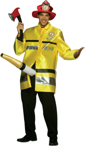 The Fire Extinguisher Adult Costume