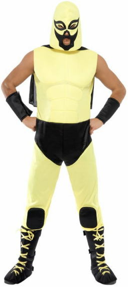 Mexican Wrestler Adult Costume