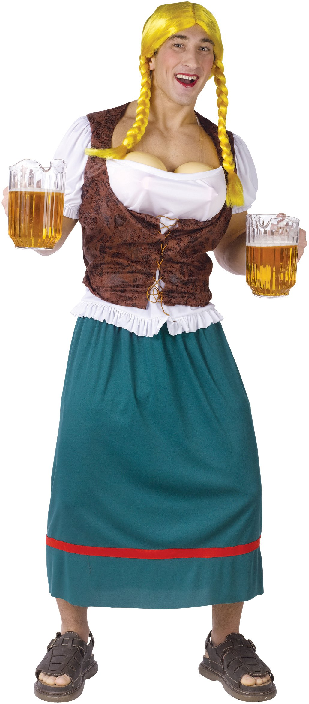 Miss German-breast Adult Plus Costume