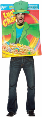 Lucky Charms Cereal Box Adult Costume