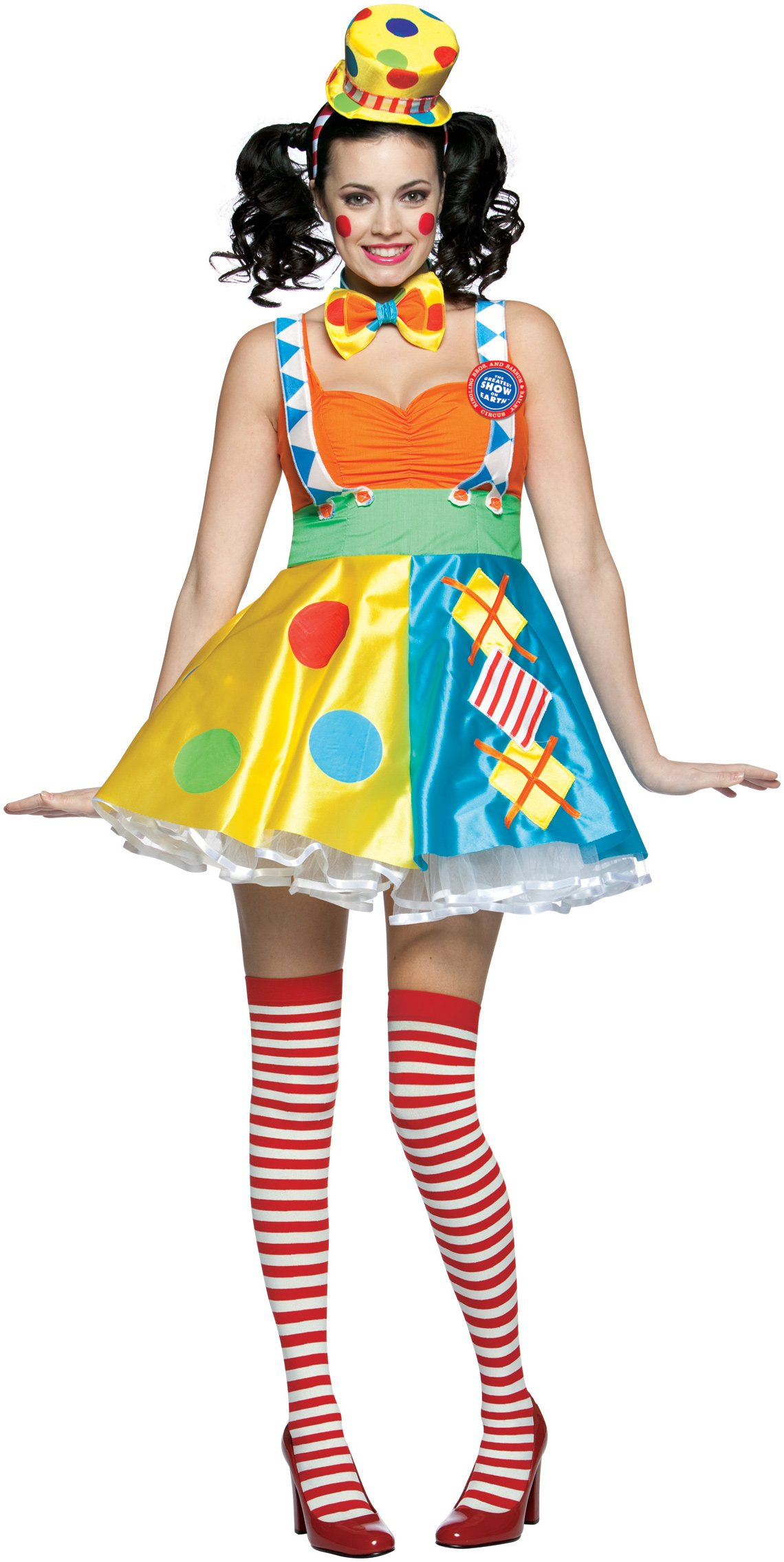 Ringling Bros. Diamond Dot Clown Adult Circus Costume