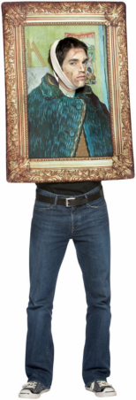 Van Gogh Self Portrait Frame Adult Costume