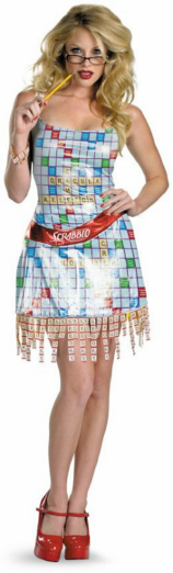 Scrabble Sexy Deluxe Adult Costume