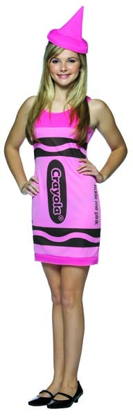 Tickle Me Pink Crayola Crayon Costume