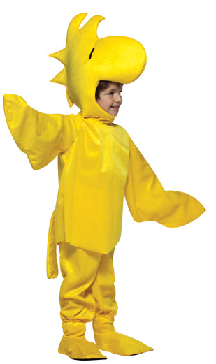 Peanuts Woodstock Child Costume