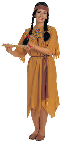 Adult Pocahontas Costume larger image